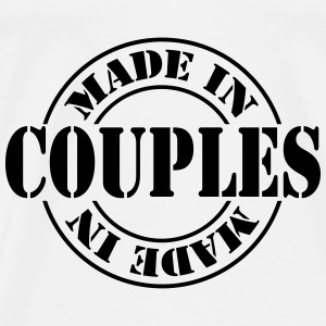 made_in_couples_m1 Shirts - Mannen Premium T-shirt