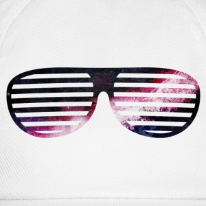 galaxy glasses galaxy briller T-skjorter - Baseballcap