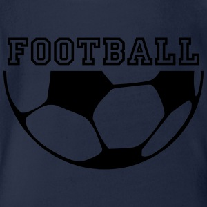 football Tee shirts manches longues - Body bébé bio manches courtes