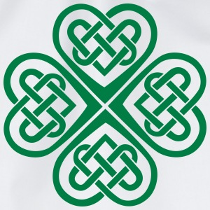 St Patricks Day Shamrock Celtic Heart Eternal Knot T-Shirts - Drawstring Bag