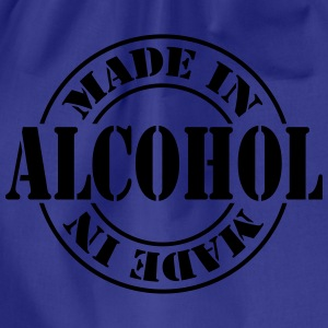 made_in_alcohol_m1 T-shirts - Sportstaske