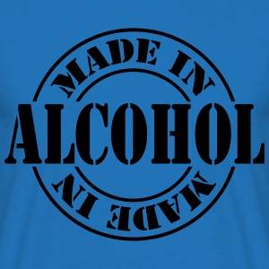 made_in_alcohol_m1  Aprons - Men's T-Shirt