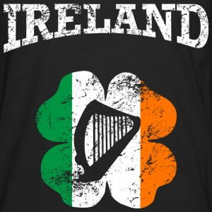 Ireland_grunge Tee shirts - T-shirt manches longues Premium Homme