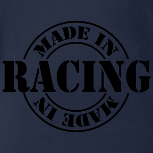made_in_racing_m1 Shirts - Baby bio-rompertje met korte mouwen