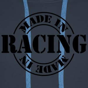 made_in_racing_m1 Tee shirts - Sweat-shirt à capuche Premium pour hommes