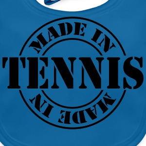 made_in_tennis_m1 Camisetas - Babero ecológico bebé