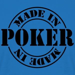 made_in_poker_m1 Delantales - Camiseta hombre