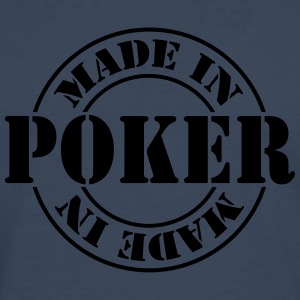 made_in_poker_m1 T-shirts - Herre premium T-shirt med lange ærmer