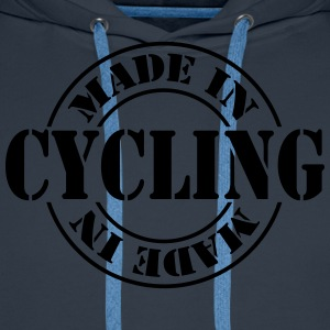 made_in_cycling_m1 Tee shirts - Sweat-shirt à capuche Premium pour hommes
