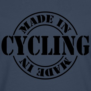 made_in_cycling_m1 T-shirts - Herre premium T-shirt med lange ærmer