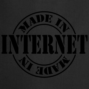 made_in_internet_m1 Shirts - Keukenschort