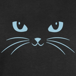 Cat Face With Big Eyes T-shirts - Mannen sweatshirt van Stanley & Stella