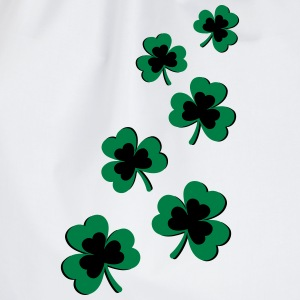 St. Patrick`s Day Shamrock Clover Gift Lucky Charm T-Shirts - Drawstring Bag