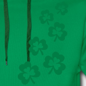 St. Patricks Day Shamrock Clover Gift Lucky Charm  T-Shirts - Men's Premium Hoodie