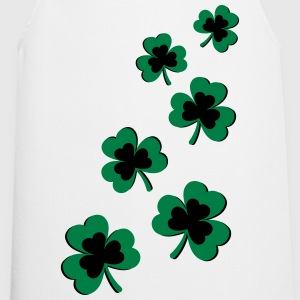 St. Patrick`s Day Shamrock Clover Gift Lucky Charm T-Shirts - Cooking Apron