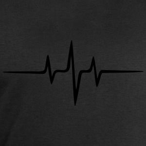 Music Heart rate Dub Techno House Dance Electro T-Shirts - Men's Sweatshirt by Stanley & Stella