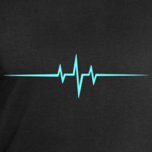 Music Heart rate Dub Techno House Dance Trance Tee shirts - Sweat-shirt Homme Stanley & Stella