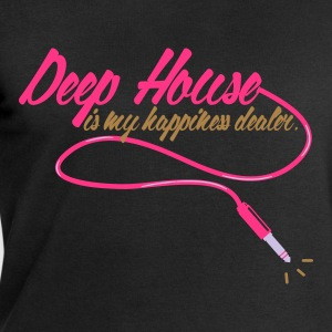 DEEP HOUSE IS MY HAPINESS DEALER Tee shirts - Sweat-shirt Homme Stanley & Stella