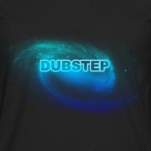 dubstep space blue T-shirts - Långärmad premium-T-shirt herr