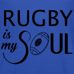 Rugby is my soul Sweat-shirts - Débardeur Femme marque Bella