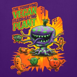 The Terrifying Vegan Flesh Eating Plant T-shirts - Mulepose