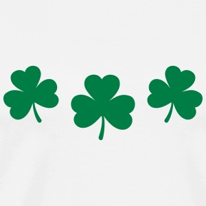 St. Patricks Day Shamrock Clover Lucky Charm Paddy Tee shirts manches longues - T-shirt Premium Homme