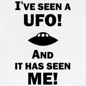 I've Seen a UFO! Men's Hoodie - Baseballcap
