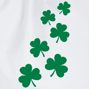 St. Patricks Day Shamrock Clover Gift Lucky Charm  T-Shirts - Drawstring Bag
