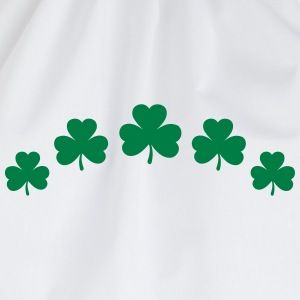St. Patricks Day Shamrock Clover Paddy Lucky Charm T-Shirts - Drawstring Bag