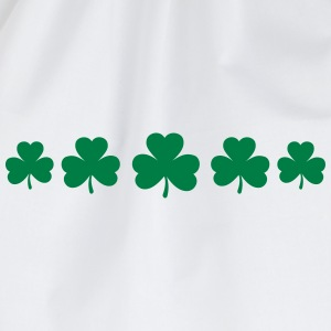 St. Patricks Day Shamrock Clover Paddy Lucky Charm Hoodies & Sweatshirts - Drawstring Bag
