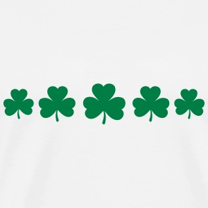 St. Patricks Day Shamrock Clover Paddy Lucky Charm Sweat-shirts - T-shirt Premium Homme