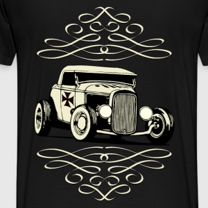 US Old Car Sweat-shirts - T-shirt Premium Homme