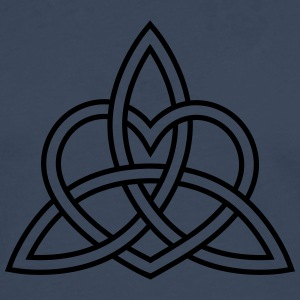 Celtic Heart Triquetra Trinity God Christ Spirit Hoodies & Sweatshirts - Men's Premium Longsleeve Shirt