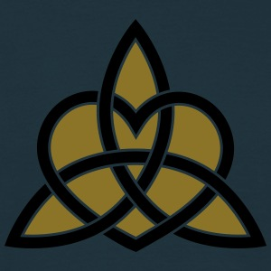 Celtic Heart Triquetra Trinity God Christ Spirit Sweaters - Mannen T-shirt
