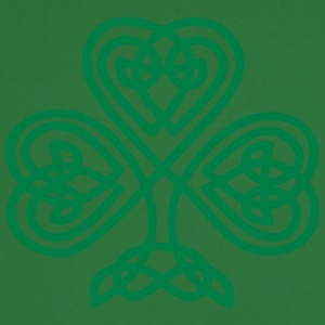 S. Patricks Day Shamrock Trinity & Eternal Love Hoodies & Sweatshirts - Men's Football Jersey