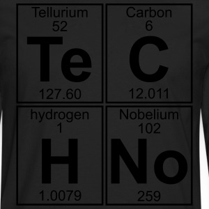 Te-C-H-No (techno) T-Shirts - Men's Premium Longsleeve Shirt