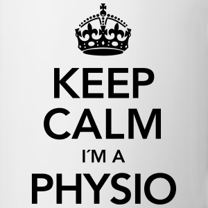 Keep Calm I´m A Physio T-skjorter - Kopp