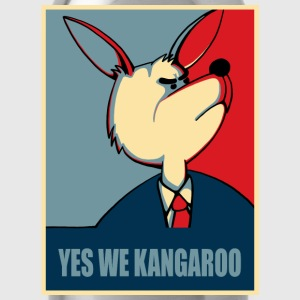 Yes we can - Yes we Kangaroo T-Shirts - Trinkflasche