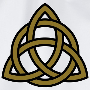 Celtic Knot Triquetra Patricks Day Triangle Circle T-shirts - Gymnastikpåse