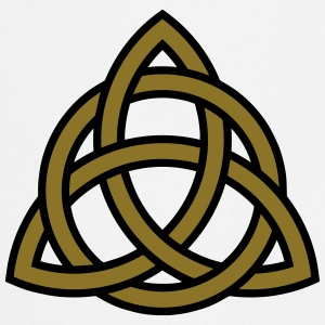 Celtic Knot Triquetra Patricks Day Triangle Circle T-shirts - Förkläde