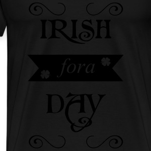 irish fora day Gensere - Premium T-skjorte for menn