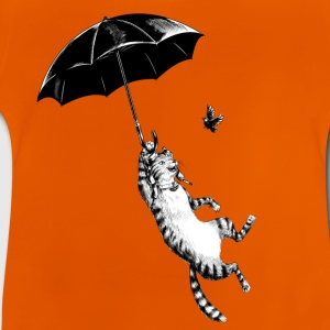 Sol-gul Cat Umbrella T-shirts - Baby T-shirt