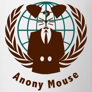 anony mouse v2 T-shirts - Kop/krus