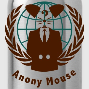 anony mouse v2 Pullover & Hoodies - Trinkflasche