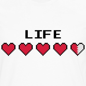 Life Hearts T-Shirts - Men's Premium Longsleeve Shirt