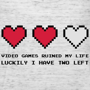 Video Games Ruined My Life Sweaters - Vrouwen tank top van Bella