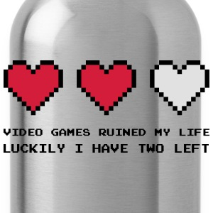 Video Games Ruined My Life Tröjor - Vattenflaska