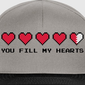 You Fill My Hearts  Hoodies & Sweatshirts - Snapback Cap