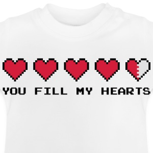 You Fill My Hearts  Camisetas - Camiseta bebé