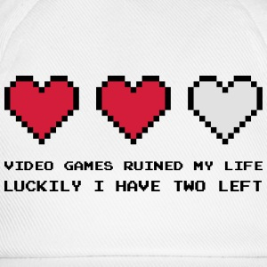 Video Games Ruined My Life T-shirts - Baseballkasket